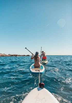 paddleboard in croazia