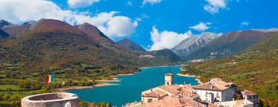 lago occhito in molise