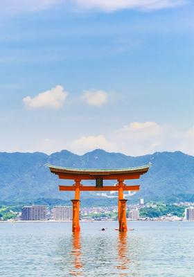 tempio galleggiante di miyajima