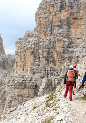 Bocchette Centrali Montagna Dolomiti
