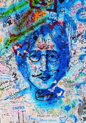 John Lennon Wall a praga