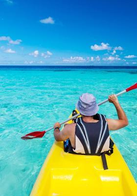 fare kayak alle maldive