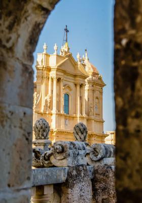 chiesa barocca a noto