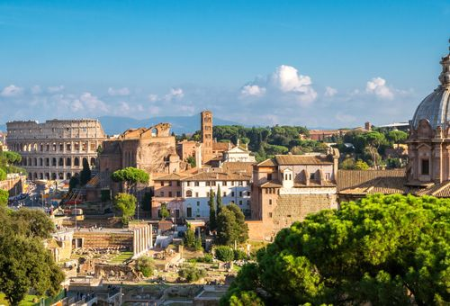 Roma: Tour a piedi della Capitale cover