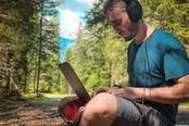 smart working nella natura in montagna