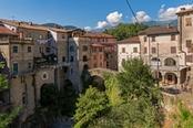 antico borgo di bagnone in toscana