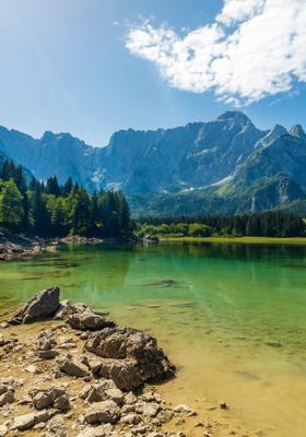 laghi glaciali di fusine