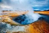 Crateri fumanti in Islanda