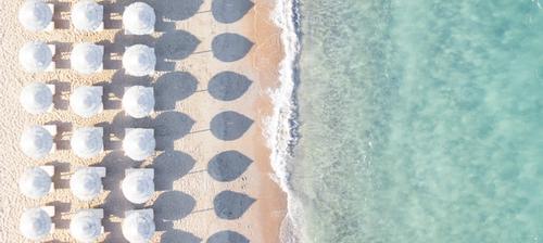 spiaggia attrezzata in italia