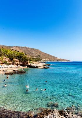 spiaggia di akvaryum in turchia