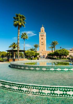 piazza azzurra marrakech