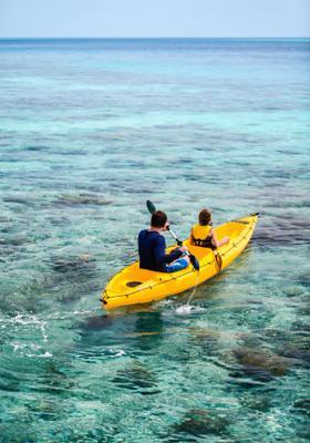 kayak in croazia
