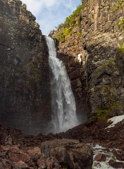 cascata in svezia