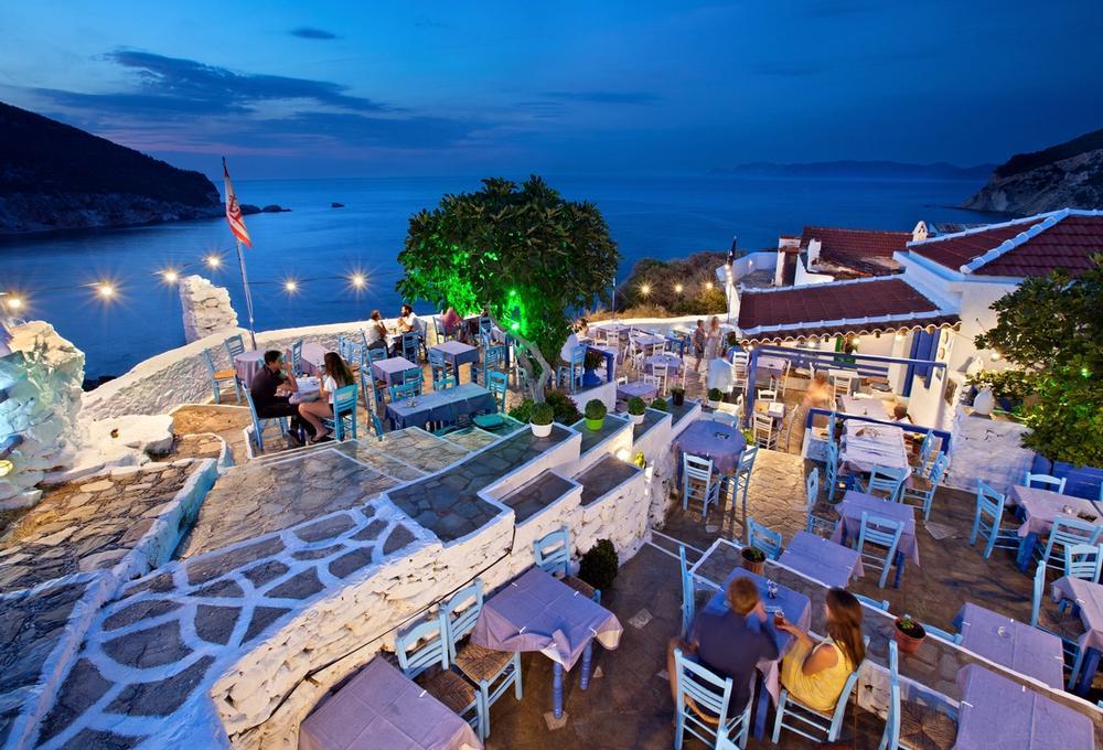 skopelos town isola di skopelos in grecia