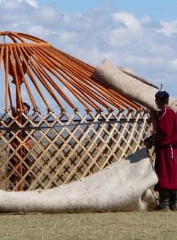 Building Mongolian Gher