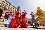 ballerine di flamenco a siviglia