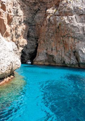 grotta con barca a marettimo