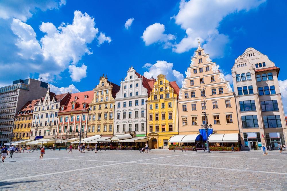piazza di breslavia polonia
