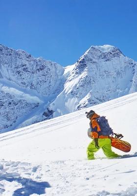 snowboard in val di sole