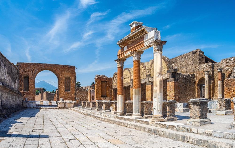 scavi di pompei antica a napoli in campania