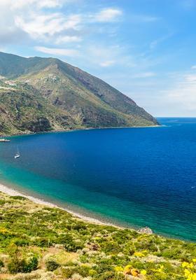 Mare di Filicudi in Sicilia