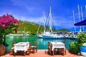 ristorante sul mare a sivota