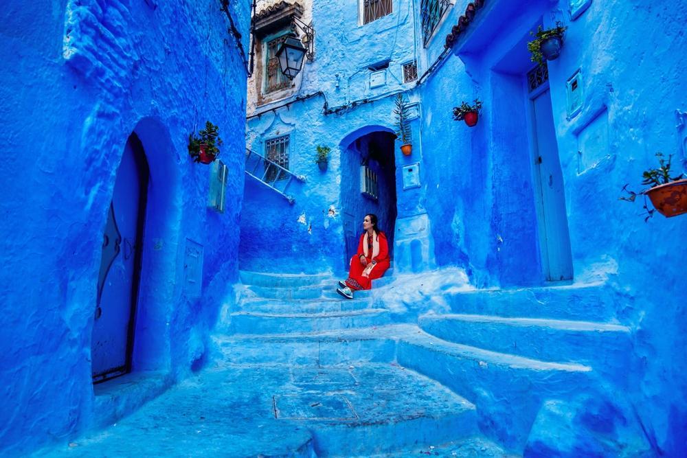chefachaouen citta blu marocco