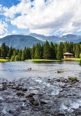 lago dei caprioli in trentino