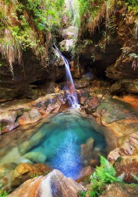 cascata nel parco nazionale dell isalo