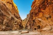 Canyon in Giordania