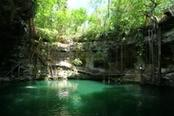 Cenote naturale in Messico