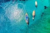 barche nel golfodi bodrum