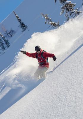 snowboard a courmayeur