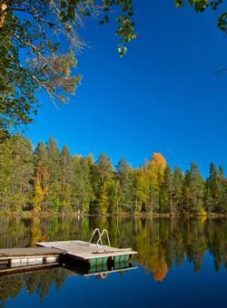 sauna lago in finlandia