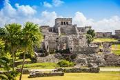 Piramidi Maya in Messico