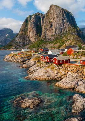 villaggio reine isole lofoten