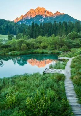 riserva naturale zelenci