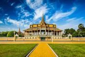 tempio giallo a phnom penh