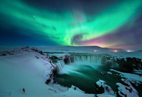 Alla ricerca dell'aurora boreale cover