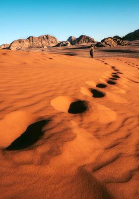deserto rosso wadi rum giordania