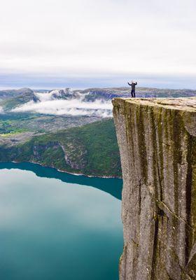 scogliera pulpito norvegia