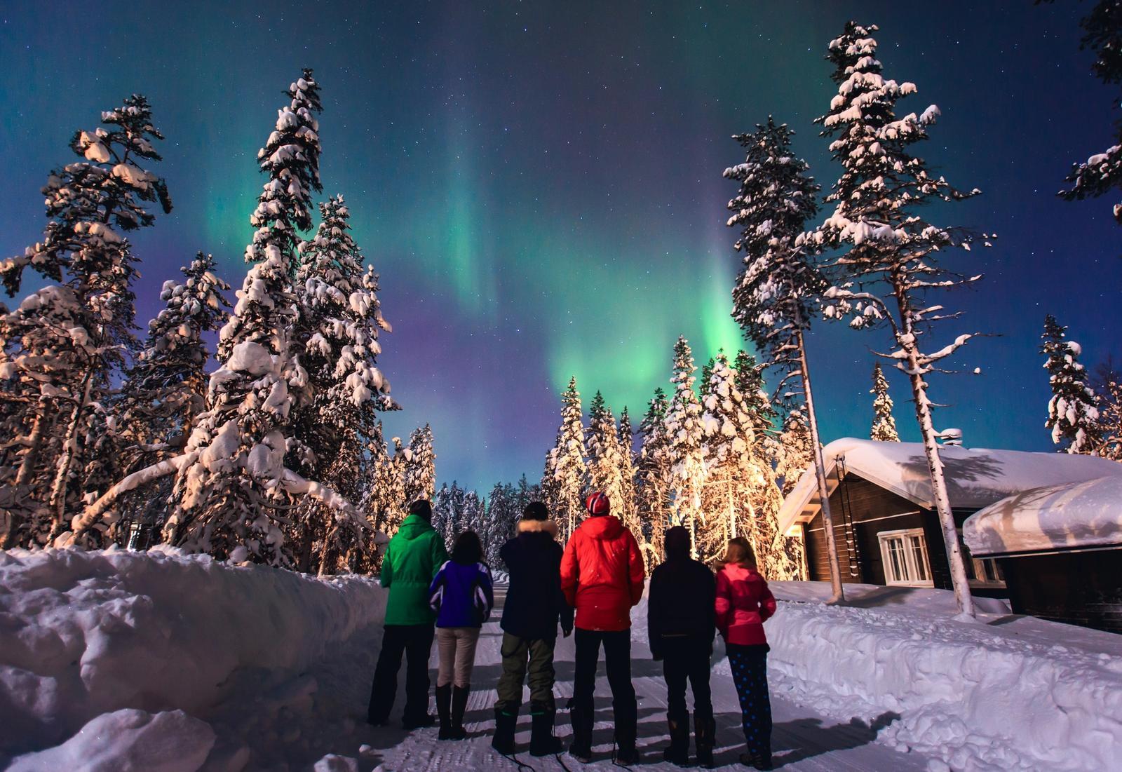 escursione in slitta trainata da husky in norvegia