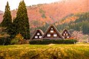 case tipiche di shirakawago