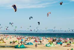 kitesurf a tarifa in spagna