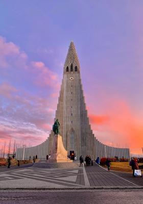 chiesa di reykjavik islanda