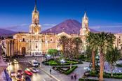 CIttà peruviana di Arequipa