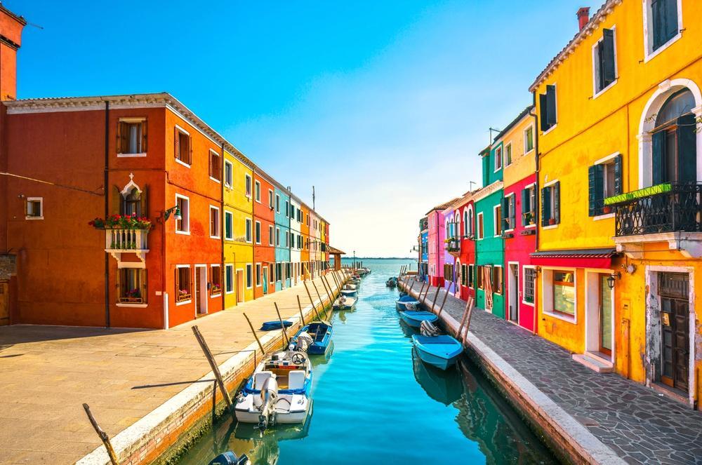 canale di burano venezia