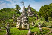 vientiane parco dei buddha