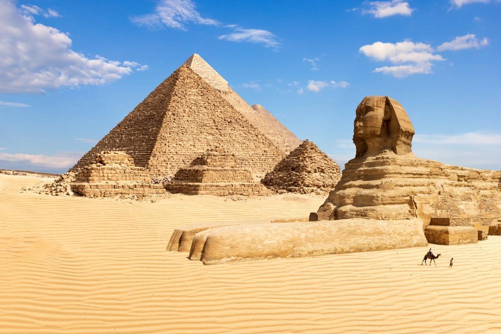 piramide di cheope in egitto