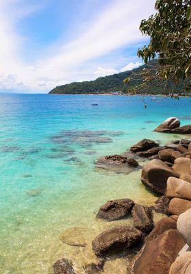 mare malesia isole perhentian